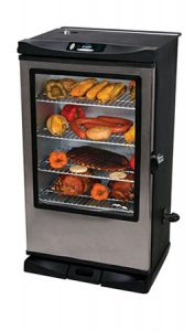 Masterbuilt 20075315 Front Controller Smoker with Viewing Window - Our Pick
